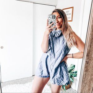 Akira romper with bow